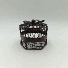 new metal birdcage model home decorative iron craft